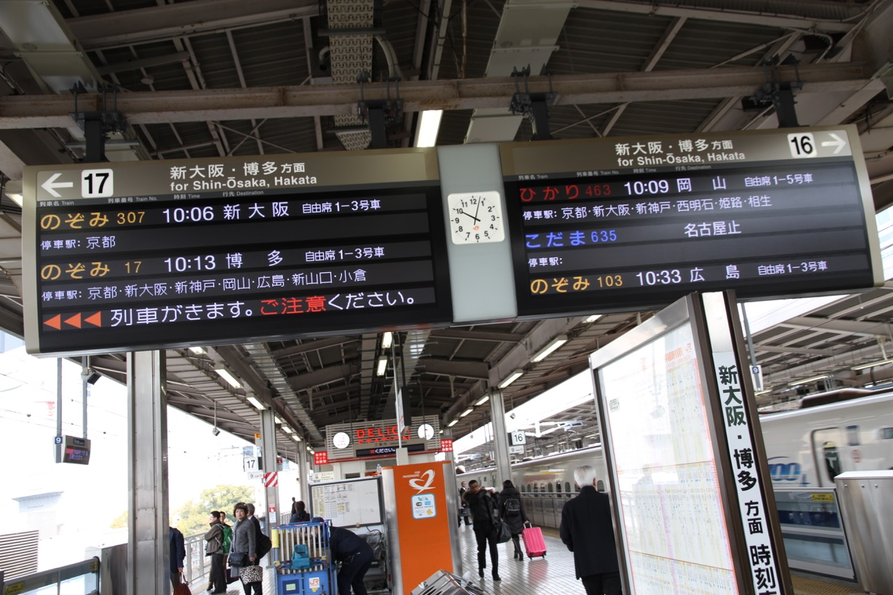 13.3. Shinkansenilla Kiotoon