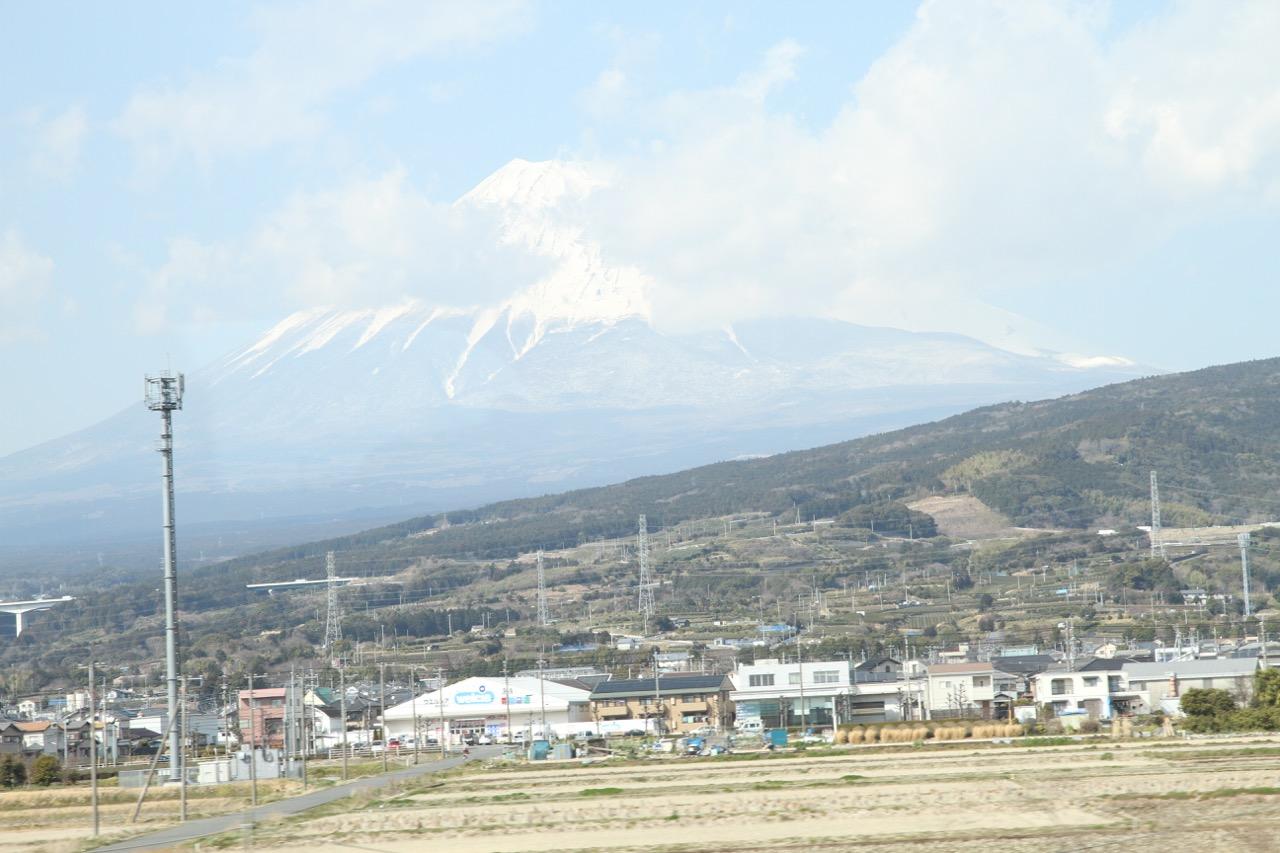 Fuji-vuori junan ikkunasta, Shin-Yokohama–Nagoya
