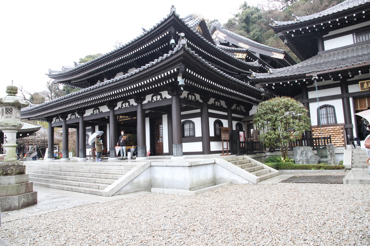 Great Kannon Kamakura Hasedera Kannon-do Hall