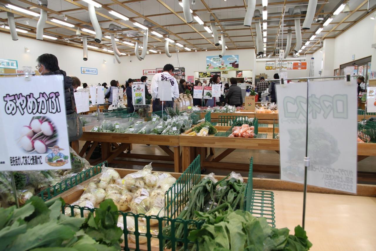 Vihanneksia lähituottajilta